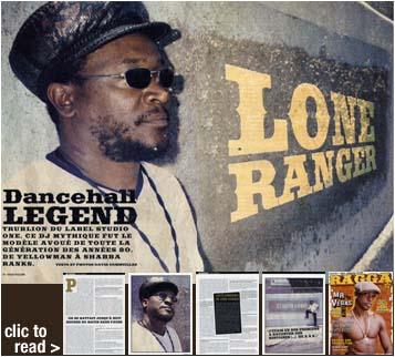 Lone Ranger Interview in Ragga Magazine