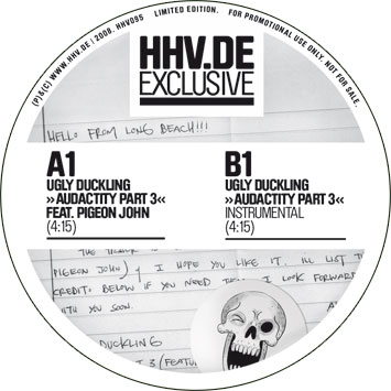 Ugly Duckling Audacity Exclusive 7 inch