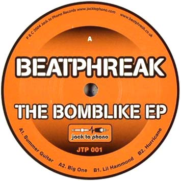 Beatphreak The Bomblike EP