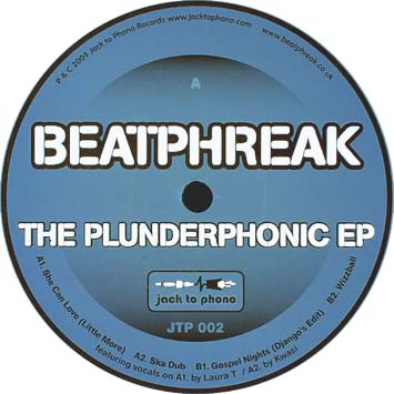Beatphreak The Plunderphonic EP