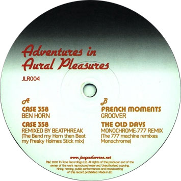 Adventures In Aural Pleasures EP