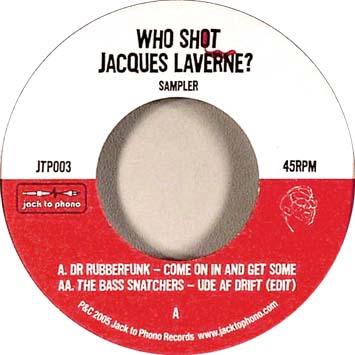 Who Shot Jacques Laverne Sampler