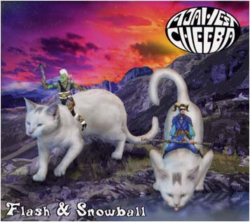 aja west and cheeba flash and snowball
