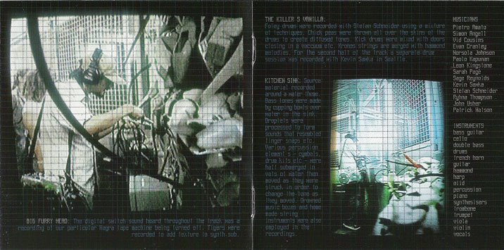 promo cd   dvd artwork   amon tobin     amon tobin   foley room   paris djs  rh   parisdjs com