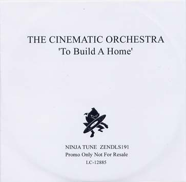 The Cinematic Orchestra To Build A Home Paris Djs
