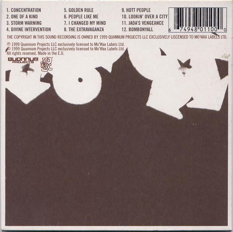 Various Quannum Spectrum Instrumentals Paris Djs