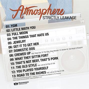 Atmosphere strictly leakage free album to download paris djs atmosphere strictly leakage atmosphere strictly leakage malvernweather Gallery