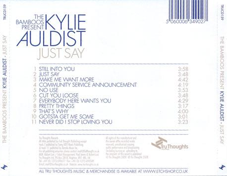 Kylie Auldist - Community Service Announcement / Cut You Loose