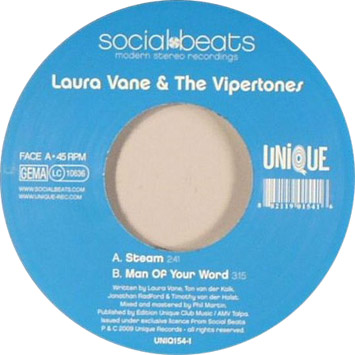 Laura Vane and the Vipertones Steam